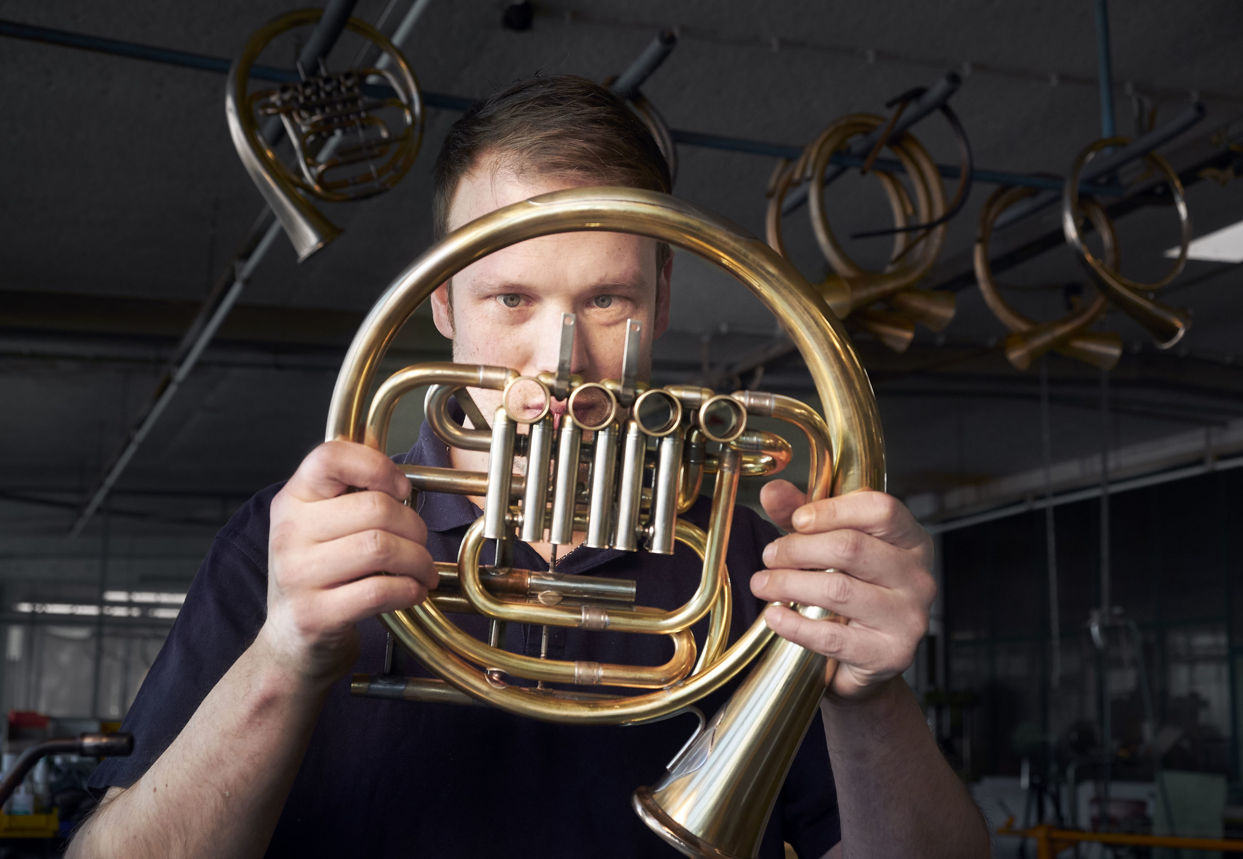Finke Horns in Vlotho, 17.4.2019, Michael Opritz
