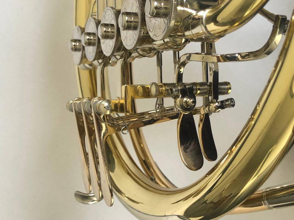 B-Horn,5 Ventile Ausschnitt