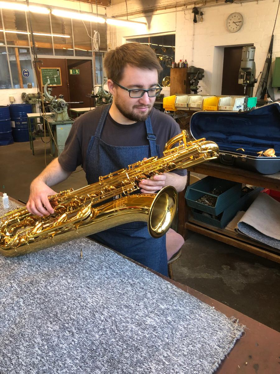 Reparatur Saxophon